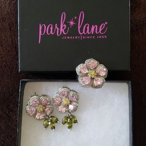 Retired Park Lane ring and earring set